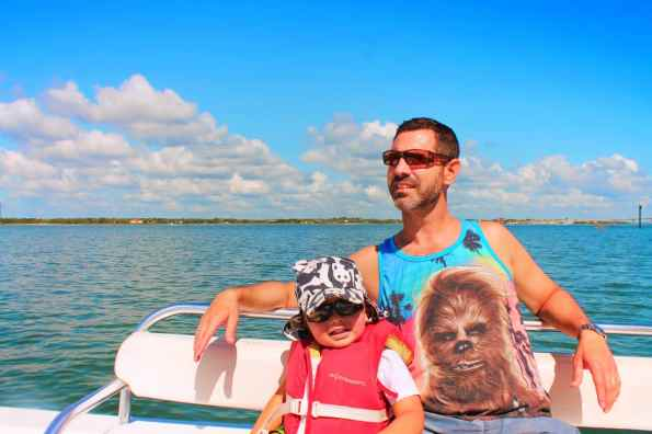 Taylor Family Exploring with St Augustine Ecotours 2
