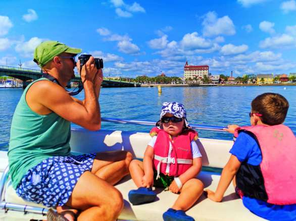 Taylor Family Exploring with St Augustine Ecotours 4