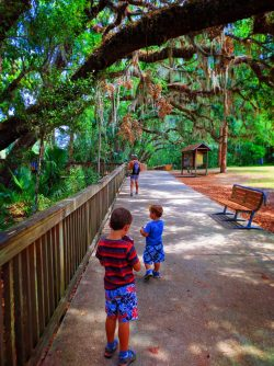 Taylor Family at Blue Spring State Park Daytona Beach 1
