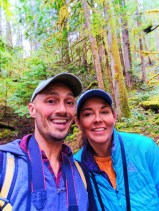 Taylor Family at Falls Creek Falls Carson Washington 6