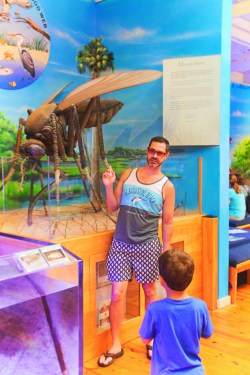 Taylor Family at Ponce Inlet Marine Science Center 9