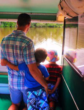Taylor Family on Ecotour at De Leon Springs State Park Daytona Beach 8