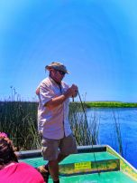 Captain Geoff on Mobile River Delta from Airboat Mobile Alabama 1