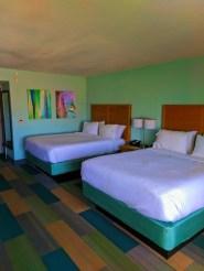 Double Queen room at Holiday Inn Resort Jekyll Island Golden Isles Georgia 2