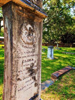 Gravestones in Historic Church Street Graveyard Mobile Alabama 5