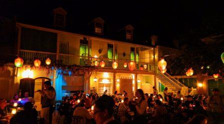 Inside Blue Bayou Restaurant Pirates of the Caribbean New Orleans Square Disneyland 4