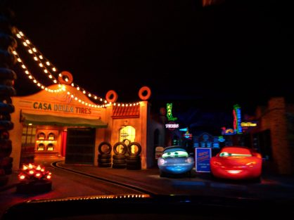 Inside Radiator Springs Racers Cars Land Disneys California Adventure 1