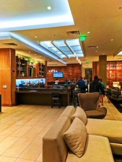 Lobby of Hyatt House Anaheim Disneyland 1