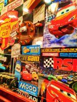 Memorabilia in Luigis Rollickin Roadsters at Cars Land Disneys California Adventure 2