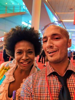 Rob Taylor and Jennifer Lewis on Red Carpet Cars 3 Premiere 2017 1