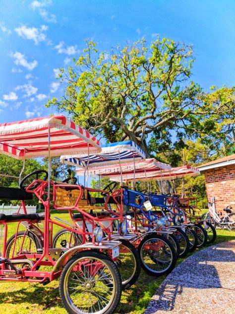 Surrey Bicycles at Jekyll Island Authority Bike rental 3
