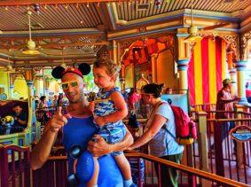 Taylor Family at Toy Story Mania Paradise Pier Disneys California Adventure 3