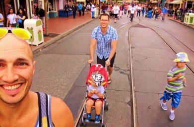 Taylor Family on Main Street USA Disneyland 1