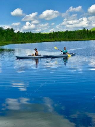 Kayaking in Woodloch Inn PA