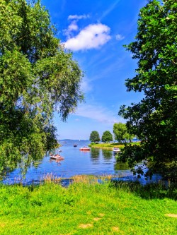 Boating on Lake Mendota Madison Wisconsin 2