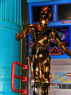C3PO in Star Tours Tomorrowland Disneyland 1
