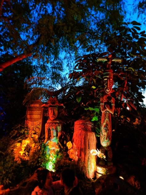Hawaiian Gods Tiki Room Adventureland Disneyland 3