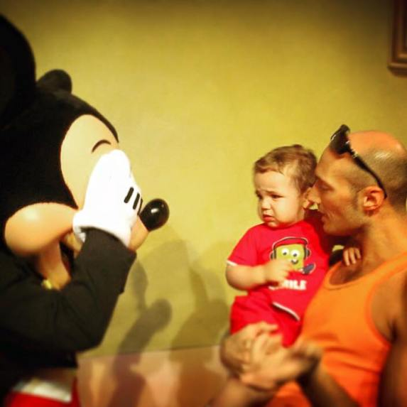 LittleMan Meets Mickey 1