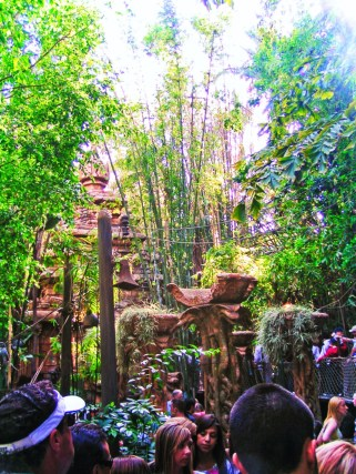 Queue at Indiana Jones Adventureland Disneyland 1