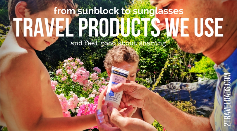 We have our favorite travel kid products (and for adults too) that we stand behind. From Johnsons Baby goods to our favorite sunglasses, there are great products to keep your family safe and ready to travel. 2traveldads.com