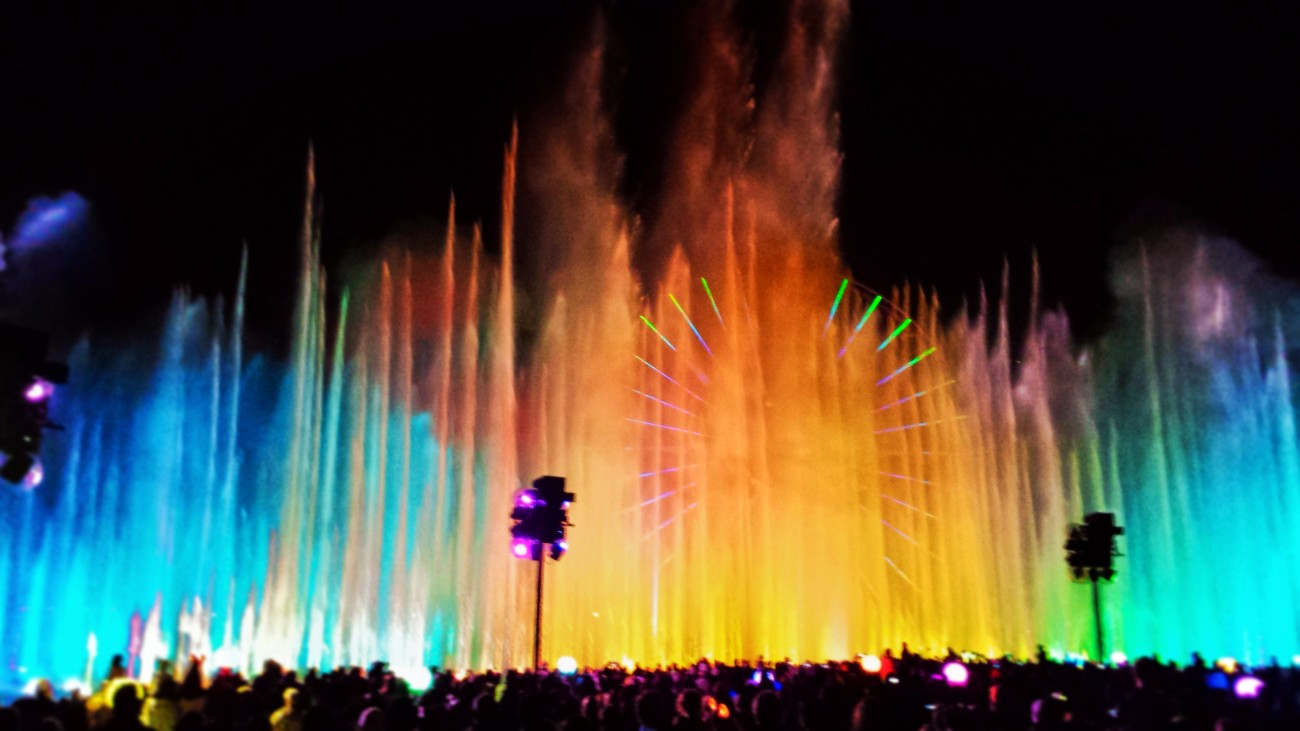 World of Color by Thrifty Travelista California Adventure 1