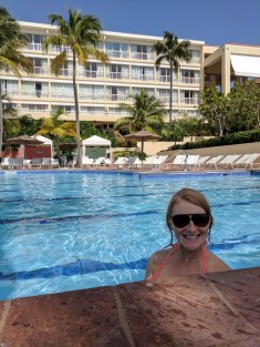 Swimming at El Conquistador Waldorf Astoria Puerto Rico