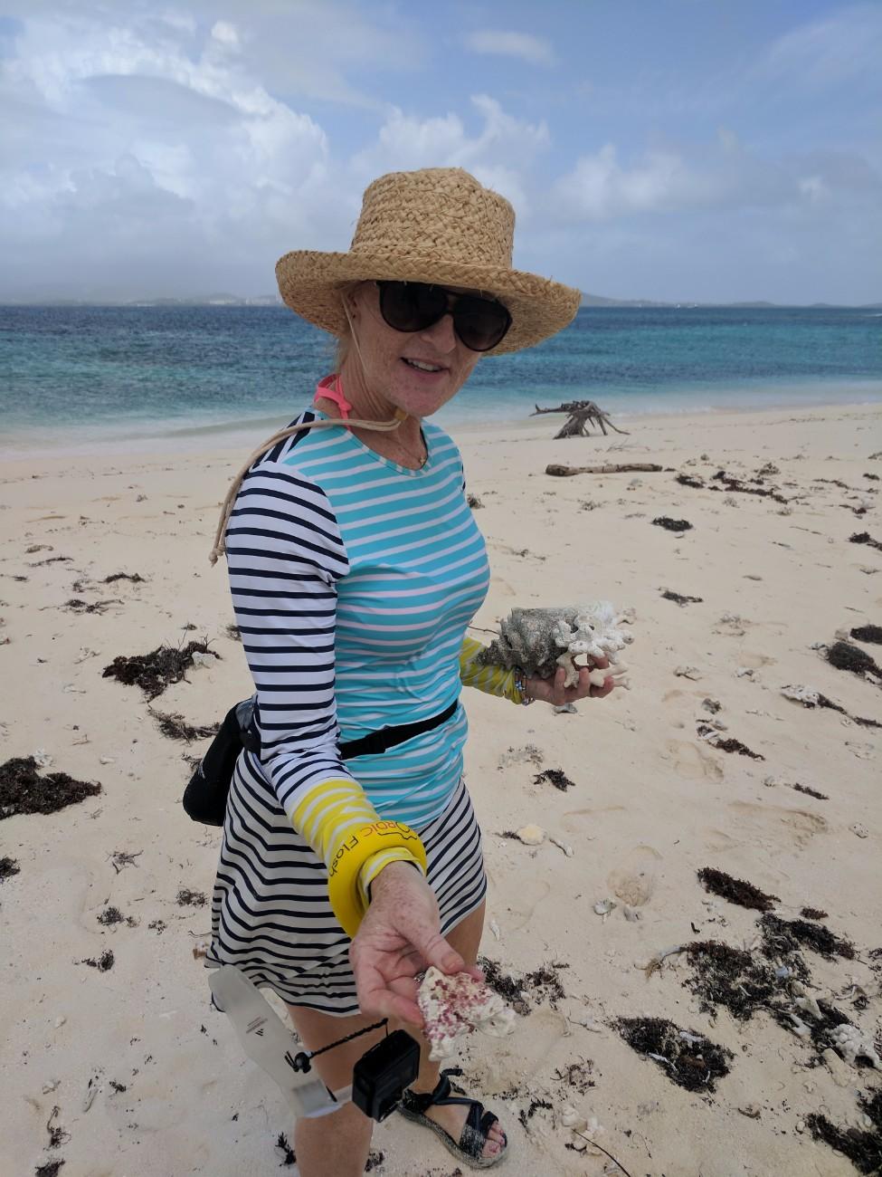 Snorkeling trip at Isla Palomina Puerto Rico 1