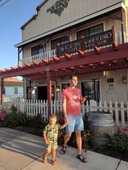 Wine Tasting at Ca del Gervino Orcutt California 1