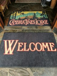 Taylor Family staying at Cambria Pines Lodge 2