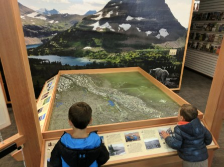 Crown of the Continent Discovery Center West Glacier Montana