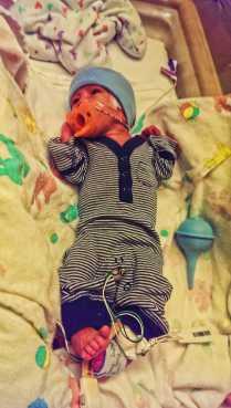 NICU Baby Fankie 3
