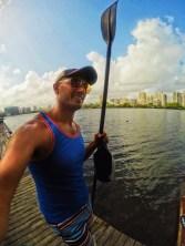 Rob Taylor Kayaking at Condado Plaza Hilton San Juan Puerto Rico 1