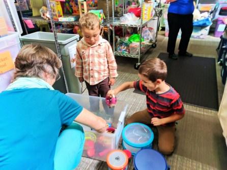 Taylor Family at WestSide Baby National Diaper Bank Network Huggies 1
