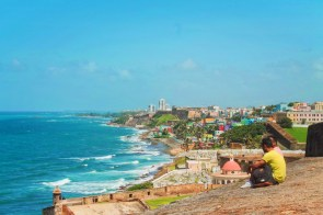 View from Castillo del Morro Old San Juan National Historic Site Puerto Rico 2