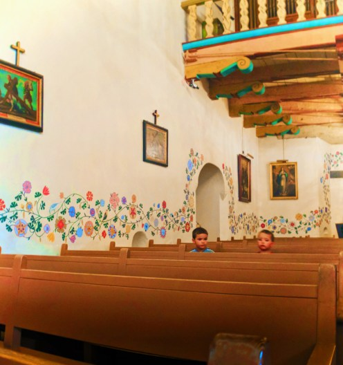 Taylor Family at Mission San Luis Obispo 1