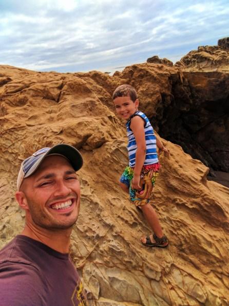 Taylor Family at Moonstone Beach Cambria California Central Coast 7