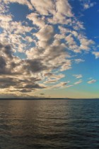 View of Whidbey Island from Amtrak Empire Builder 2