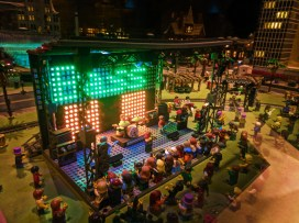 Lego Concert display at Legoland Discovery Center Arizona Tempe 2