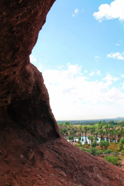 Red Sandstone Formations at Papago Park Phoenix Tempe 2