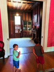 Taylor Family in mansion at John Muir National Historic Site Martinez East Bay 2