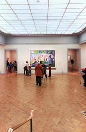 Georges Suratt Sunday Afternoon at La Grande Jatte Art Institute of Chicago 1