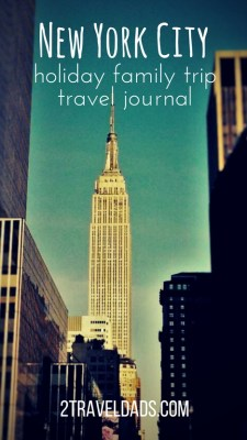 Nyc holiday family travel journal broadway to the statue for Christmas trips to new york