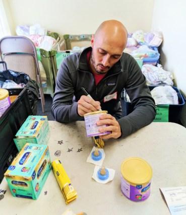 Taylor Family at WestSide Baby National Diaper Bank Network Huggies 5