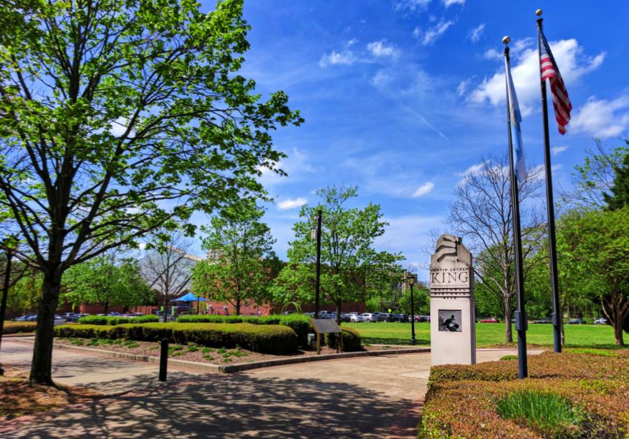 Entrance to King Center Martin Luther King Jr National Historic Site Atlanta 1