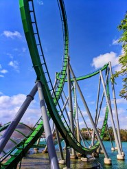 Incredible Hulk rollercoaster at Universals Islands of Adventure Universal Orlando 1