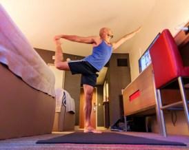 Rob Taylor Rock Om Yoga in Guestroom at Hard Rock Hotel Universal Orlando Resort 8