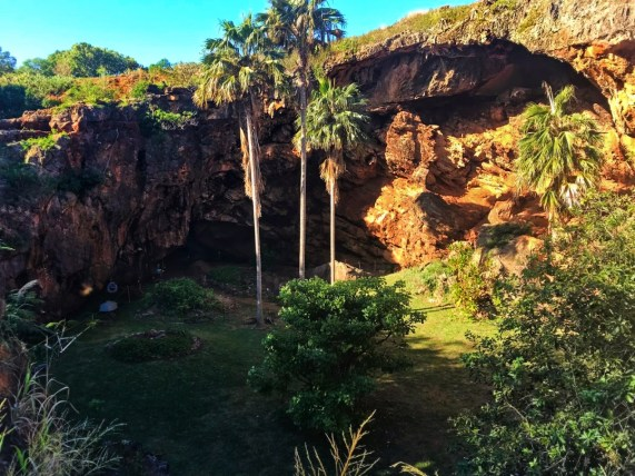 Sunken Cave at Poipu Koloa on Kauai ALaBadie 2TD writer 1