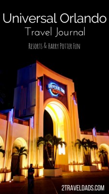 Universal Orlando Resort is so much more than a studio backlot. Gorgeous resorts, fun theme parks, and perfect pools ideal for a family vacation. 2traveldads.com