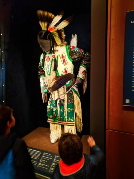 Taylor Family Lakota display at National Archives NYC National Museum of the American Indian 2