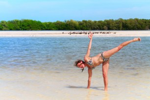 Jo Matson at Yum Balam Nature Preserve Isla Holbox Yucatan 3